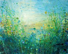 "Saatchi Online Artist: Sandy Dooley; Acrylic, 2013, Painting ""Towards the Sea"""