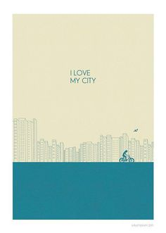 I Love My City , Judy kaufman #webdesign #design #designer #inspiration #illustrations