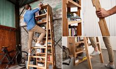 Seu apartamento é pequeno? Veja como esta estante inteligente pode ajudar a otimizar seu espaço