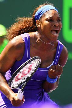 Serena over Vinci 2nd round
