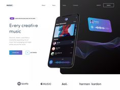 APP landing page conceptYou can find Landing pages and more on our website.APP landing page concept Web Design Trends, Interaktives Design, Web Design Websites, Design Food, Web Ui Design, Layout Design, Web Layout, Good Web Design, Layout Site