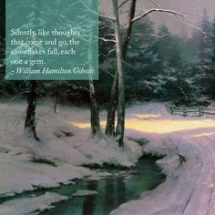 "Inspiration for this Sunday. ""Share the Light"" ""Winter Glen"" - Thomas Kinkade - 1989 Thomas Kinkade Art, Kinkade Paintings, Art Thomas, Sunday Inspiration, Winter Snow, Beautiful Paintings, Impressionist, Nail Design, Winter Wonderland"