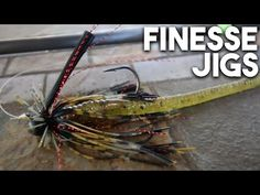 Bass Fishing Tips: Finesse Jigs - YouTube