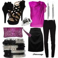 Purple Power, created by princessage.polyvore.com