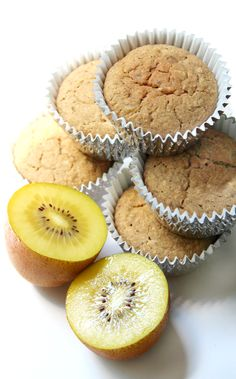 """Golden Kiwi Muffins 