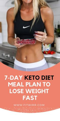 7-day low-carb diet keto meal plan to lose weight. #ketodietplan #loseweight #fitwirr