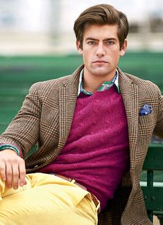 Mens Hottest Fashion, Preppy Mens Fashion, Male Fashion, Preppy Boys, Preppy Style, Tweed Sport Coat, Ivy League Style, Casual Trends, Smart Casual Men