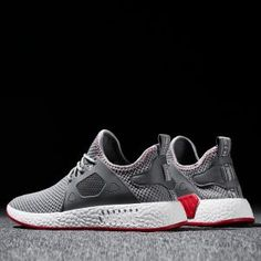 2018 Fashion Men Shoes Casual Weaving Fly Mesh Breathable Light Soft Black Slipon Mens Shoe Male Trainers Sneakers Human Race dear friend, size and size Black Sneakers, Casual Sneakers, Casual Shoes, Men Sneakers, Mens Fashion Shoes, Sneakers Fashion, Wedge Tennis Shoes, Men's Shoes, Shoes 2017