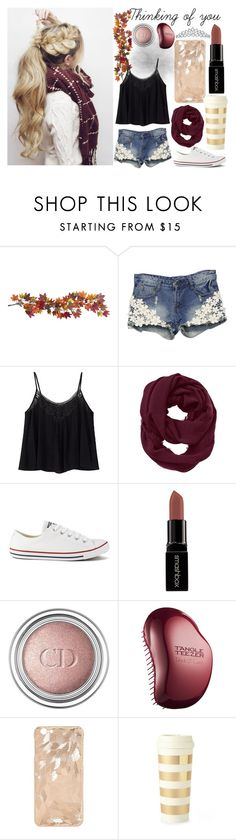 """""""Thinking of you x"""" by yazy972 on Polyvore featuring Nearly Natural, Athleta, Converse, Smashbox, Christian Dior, Tangle Teezer, Kate Spade and Bling Jewelry"""