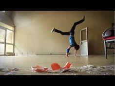 Incredible Slow Motion Breakdance.