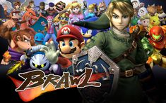 Check out this awesome collection of Super Smash Bros. Brawl wallpapers, with 41 Super Smash Bros. Brawl wallpaper pictures for your desktop, phone or tablet. Super Smash Bros Brawl, Pikachu, Pokemon, Disney Channel, Smash Bros Tournament, Bff, Video Game Movies, Video Games, Mario