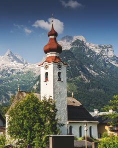 church, lofer, austria