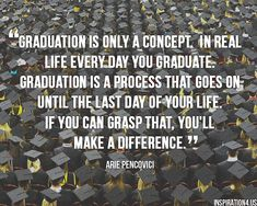 20 photo quotes about Graduating and the Future
