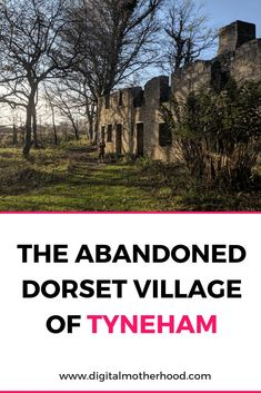 Tyneham Village has an interesting history after being abandoned during WWII. If you're looking for things to do in Dorset this is one to add to your list Family Days Out Uk, Days Out With Kids, Family Road Trips, Family Travel, Best Places To Travel, Places To See, Abandoned Places In The Uk, Wareham Dorset, Dorset Holiday