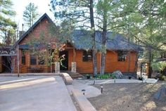 Cabin vacation rental in Munds Park, Arizona.  Such a beautiful cabin. We love this place.