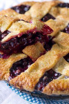 Blue Ribbon Blueberry Pie Recipe