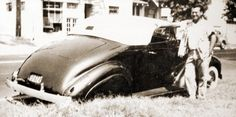 '37 Chevy Convertible, back