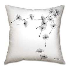 Pillow cushion Blow of the wind 3 by DesignAtelierArticle on Etsy, €30.00