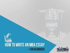 professional mba essay writing