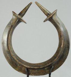 Monnaie en bronze TORQUE YORUBA Nigeria Neck ring currency MC0382