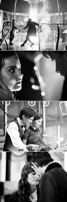 The Doctor + Clara #doctorwho