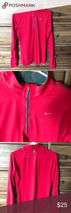 Nike running gear Nice comfy shirt! Great running wear. Cleaning out closet! Nike Tops Sweatshirts & Hoodies