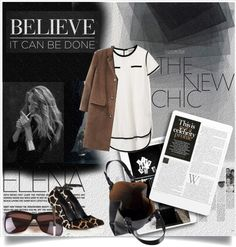 """Believe it can be done.."" by anashe ❤ liked on Polyvore"