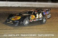 Tony on the dirt at Eldora Speedway  Prelude to the Dream 2012