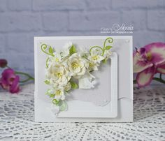 Paper Crafts, Diy Crafts, Wild Orchid, Marianne Design, Flower Crafts, I Fall In Love, My Works, Wedding Cards, Cardmaking