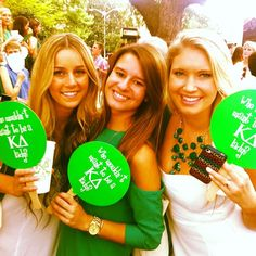 Who Wouldn't Want to be a KD Lady? #KappaDelta #KD #BidDay #sorority