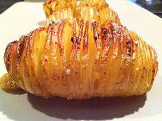 Pomme de terre suédoise Healthy Breakfast Potatoes, Healthy Breakfast Recipes, Healthy Recipes, Baked Chicken Recipes, Crockpot Recipes, Batatas Hasselback, Healthy Food Quotes, Food Porn, Vegetable Recipes