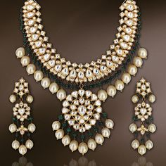 Bridal kundan jewellery