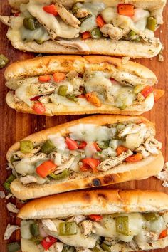 Is Chicken The Better Philly Cheesesteak Meat? Is Chicken The Better Philly Cheesesteak Meat? Is Chicken The Better Philly Cheesesteak Meat?Delish<br> Chicken cheesesteaks are going to become your new favorite sandwich. Chicken Philly Cheesesteak, Cheese Steak Sandwich Recipe, Chicken Sandwich Recipes, Cheese Steaks, Provolone Cheese, Food Trucks, Tortellini, Philly Sandwich, Chicken Subs