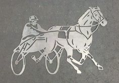 Harness Horse Equine Metal Art