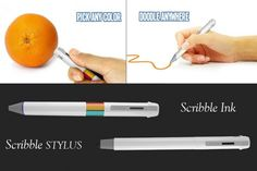 Pen that lets you draw any color in the world!  http://www.getscribblepen.com/