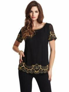 GUESS by Marciano Women's Anwesha Beaded Top http://www.branddot.com/13/GUESS-Marciano-Womens-Anwesha-Beaded/dp/B00GZ5TXPC/ref=sr_1_12/192-9414780-9387031?s=apparel