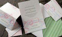 Helani Letterpress Letterpress Invitations, Wedding Invitations, Smocking, Pretty, Pictures, Photos, Wedding Invitation Cards, Grimm, Wedding Invitation