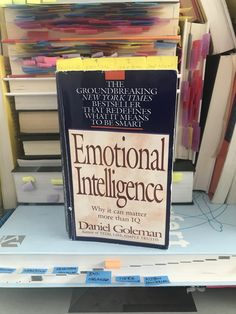 by Daniel Goleman Why it can matter more than IQ *affiliate link Chalkboard Quotes, Letter Board, Art Quotes, Author, Lettering, Canning, Books, Young Professional, Emotional Intelligence