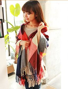 Leegoal Classic Cashmere Feel Plaid Long Pashmina Scarves Wrap,Red&Blue Guan's http://www.amazon.com/dp/B00GANFN12/ref=cm_sw_r_pi_dp_RrJWvb0KZ6VA8