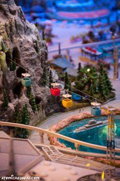 """The Disneyland of Walt's Imagination"" model at Walt Disney Family Museum represents the park during Walt's lifetime. | Atomic Redhead"