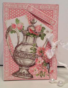annes papercreations: Graphic 45 Botanical Tea mini album