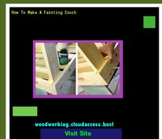 How To Make A Fainting Couch 221837 - Woodworking Plans and Projects!