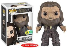 Game of Thrones: Mag the Mighty Pop figure by Funko, 2016 San Diego Comic Con Funko exclusive