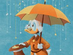 Uncle Scrooge (Variant) by DKNG