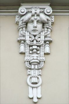 """According to UNESCO, """"Riga has the finest collection of Art Nouveau buildings in Europe."""" Walking around the streets of capital of Latvia, gives one a pleasurable taste of what living in an Art Nouveau world would have been like. Photo by Jean-Pierre Dalbera 