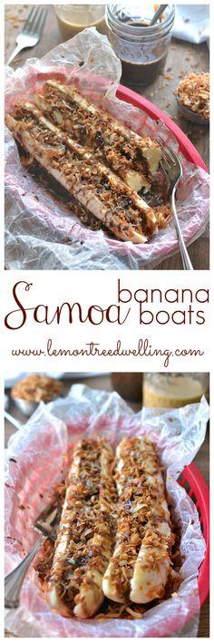 Samoa Banana Boats - these look SO good!!!