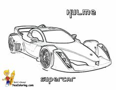 Pin By Yescoloring Coloring Pages On Cool Super Car