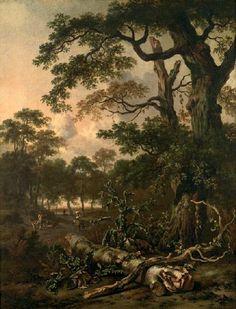 Jan Wijnants - Boslandschap