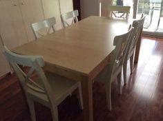 Table 6 Chairs Mississauga Peel Region Toronto GTA Image 1