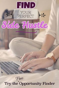 Try the free opportunity evaluator to discover the perfect side hustle for your personality! If you are looking to make a little (or a lot) of money as a side job but don't know where to start try the quiz! And soon you'll be a whiz :) #sidehustle #wahm #SideJob
